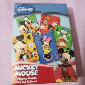 Disney Playing card Mickey mouse cards NEW toys